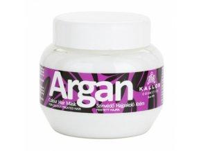 KALLOS Argan Colour Hair Mask 275ml - maska s Arganem na barvené vlasy