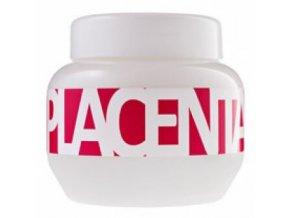 KALLOS Cosmetics Placenta Hair Mask 800ml - maska s placentou na poškozené vlasy