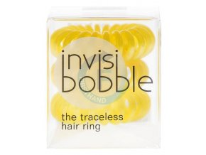 INVISIBOBBLE Original Hair Ring Yellow 3ks - Spirálová gumička do vlasů - žlutá