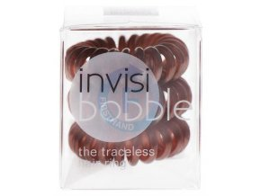 INVISIBOBBLE Original Hair Ring Brown 3ks - Spirálová gumička do vlasů - hnědá