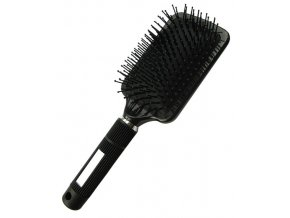 DUKO Professional Rozčesávací hranatý kartáč na vlasy 14řad - černý