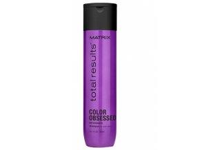 MATRIX Total Results Color Obsessed Shampoo 300ml - šampon na barvené vlasy