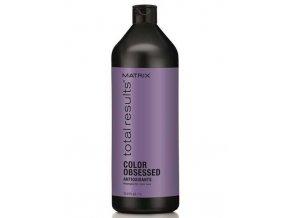 MATRIX Total Results Color Obsessed Shampoo 1000ml - šampon na barvené vlasy