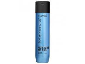 MATRIX Total Results Moisture Me Rich Shampoo 300ml - šampon na suché vlasy