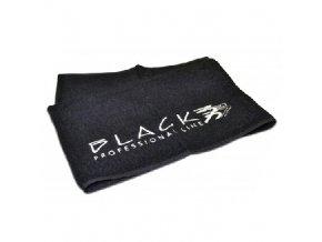 BLACK Pomůcky Ručník Black Professional 50 x 80 cm - černý