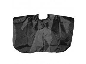 SALON Komplet Kadeřnická střihací pláštěnka krátká - černá