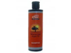 SALON CHIC Shampoo Argan Oil 250ml - Vlasový šampon s arganovým olejem