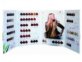 LOVIEN ESSENTIAL Vlasový vzorník barev na vlasy LOVIN Color 100ml