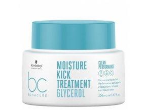 SCHWARZKOPF BC Hyaluronic Moisture Kick Treatment 200ml - kůra pro suché a trvalené vlasy