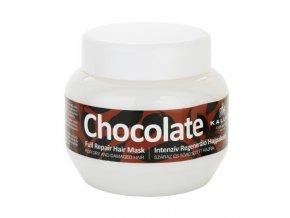 KALLOS Chocolate Repair Mask 275ml - kúra na suché lámavé vlasy