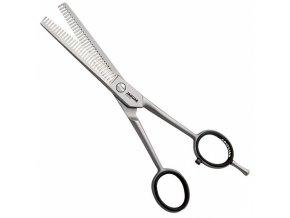JAGUAR Solingen Satin 30 oboustranné efilační nůžky  6´ 3360 - 15,5cm