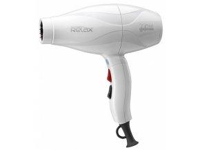 GAMMA PIÚ RELAX White 1900W profesionální fén na vlasy s AC motorem - bílý
