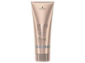 SCHWARZKOPF Blondme Cool Bonding Shampoo 250ml - šampon pro ledově chladnou blond