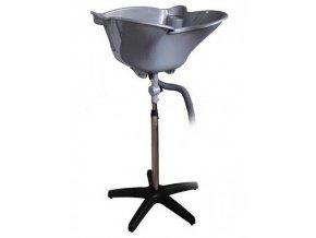 SALON Komplet Přenosná kadeřnická mycí mísa - hluboká šedá