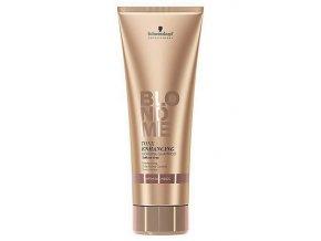 SCHWARZKOPF Blondme Warm Bonding Shampoo 250ml - šampon pro teplé odstíny blond