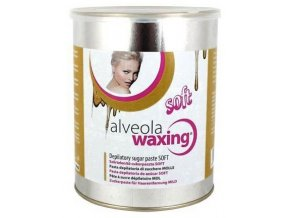ALVEOLA Waxing Depilatory Sugar Paste SOFT - jemná depilační pasta s cukrem a medem 1000g