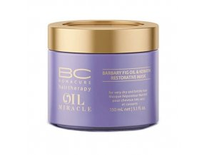 SCHWARZKOPF BC Oil Miracle Barbary Fig Oil Mask 150ml - vyživující maska s keratinem
