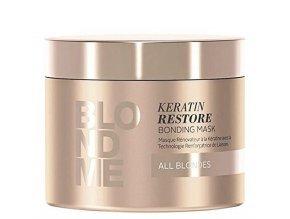 SCHWARZKOPF Blondme Keratin Restore Bonding Mask 200ml - keratinová maska na vlasy