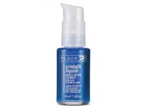 BLACK Professional Cristalli Liquidi BLU 50ml - Tekuté krystaly pro silně poškozené vlasy