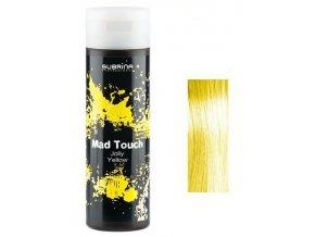 SUBRINA Mad Touch Gelová barva na vlasy Jolly Yellow 200ml - žlutá