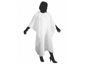 DUKO Kadeřnická pláštěnka na stříhání vlasů 125x150cm - bílá