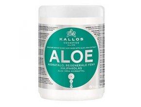 KALLOS KJMN Aloe Hair Mask 1000ml - hydratační maska s Aloe Vera na suché vlasy