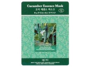 MJ CARE Cucumber Okurka - zklidňující pleťová maska na podrážděnou pokožku