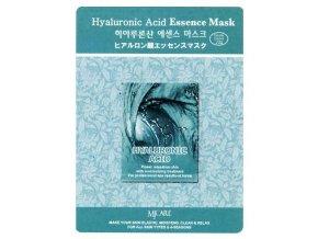 MJ CARE Hyaluronic Kyselina Hyaluronová - hydratační pleťová maska vyhlazující vrásky