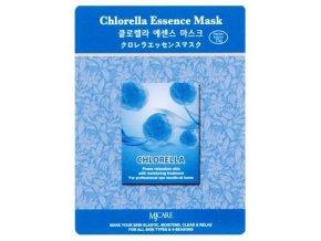 MJ CARE Chlorella Vyživující luxusní pleťová maska pro zklidnění a rozjasnění pleti