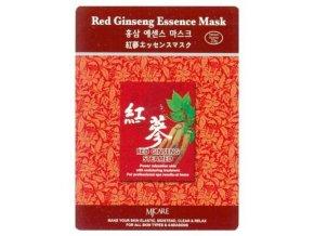 MJ CARE Red Ginseng Červený Žen Šen - luxusní pleťová maska vyhlazující vrásky