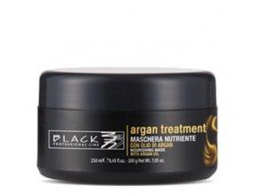 BLACK Argan Treatment Maschera 250ml - arganová regenerační maska na poškozené vlasy