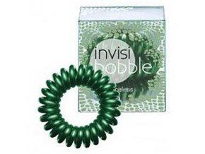 INVISIBOBBLE Hair Ring C U Later Alligator 3ks - Spirálová gumička - tmavě zelená