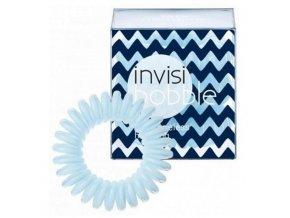 INVISIBOBBLE Hair Ring Fata Morgana 3ks - Spirálová gumička - pastelově světle modrá