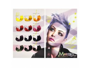 KLÉRAL MagiCrazy Vlasový vzorník pro intenzivní barvy na vlasy MAGICRAZY