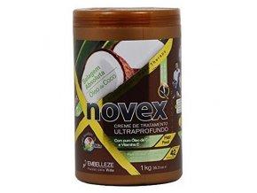 NOVEX Coconut Oil Deep Treatment Conditioner 1000g - kúra na suché vlasy s kokosem