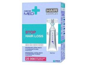 CECE MED Stop Hair Loss Ampoules 30x7ml - vlasové ampule proti vypadávání vlasů
