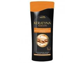 JOANNA Keratin Shampoo With Keratin 200ml - keratinový šampon na poškozené vlasy