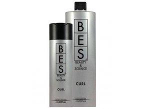 BES PHF CURL Conditioner 1000ml - kondicionér pro vlnité vlasy oživující kudrny