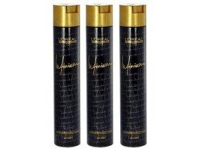LOREAL - AKCE Infinium Extreme Hairspray 500ml - ultra silný profi lak na vlasy - 3ks