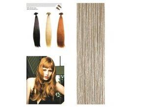 SO.CAP. Rovné vlasy Přírodní odstín 8000L 55-60cm - dark blonde ash 103