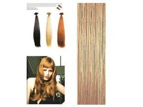 SO.CAP. Rovné vlasy Přírodní odstín 8000L 55-60cm - light blonde nature sand 19