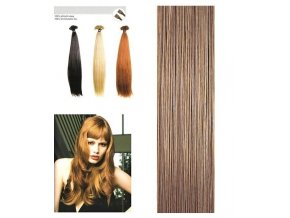 SO.CAP. Rovné vlasy Přírodní odstín 8000L 55-60cm - medium dark blonde nature 16