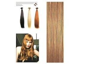 SO.CAP. Rovné vlasy Přírodní odstín 8001LC 35-40cm - medium blonde nature 15