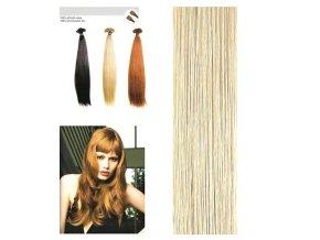 SO.CAP. Rovné vlasy Přírodní odstín 8001LC 35-40cm - pastel blond 25