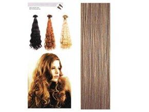 SO.CAP. Vlnité vlasy Přírodní odstín 8002M 55-60cm - medium dark blonde nature 16