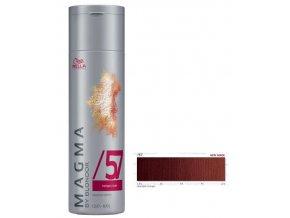 WELLA Professionals Magma By Blondor 120g - Barevný melír č.57 mahagonově hnědá