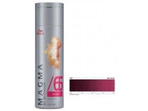 WELLA Professionals Magma By Blondor 120g - Barevný melír č.65 fialově mahagonová