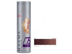 WELLA Professionals Magma By Blondor 120g - Barevný melír č.75 hnědá mahagonová