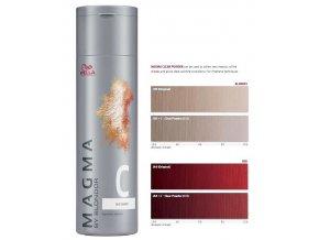 WELLA Professionals Magma By Blondor 120g - Clear Powder domíchávací, pro studené tóny