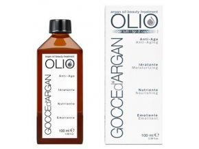 GOCCE d´ Argan Anti Age Oil 100ml - arganový olej pro regeneraci, vyživení a lesk vlasů